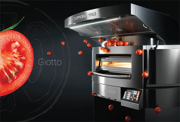 Cuppone Rotation Electrical Oven