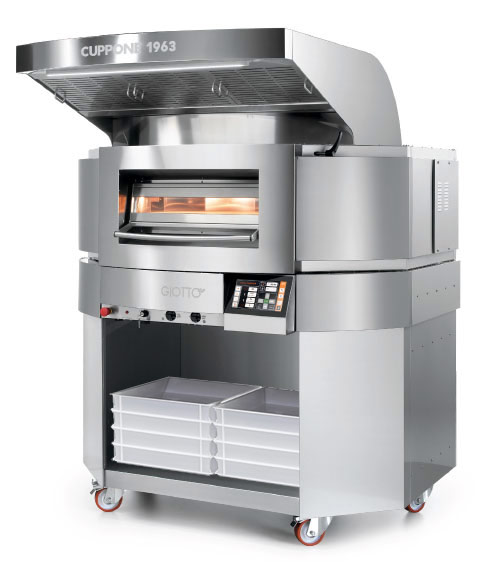 Cuppone ovens and auxiliary machines - Giotto Electrical Pizza Oven