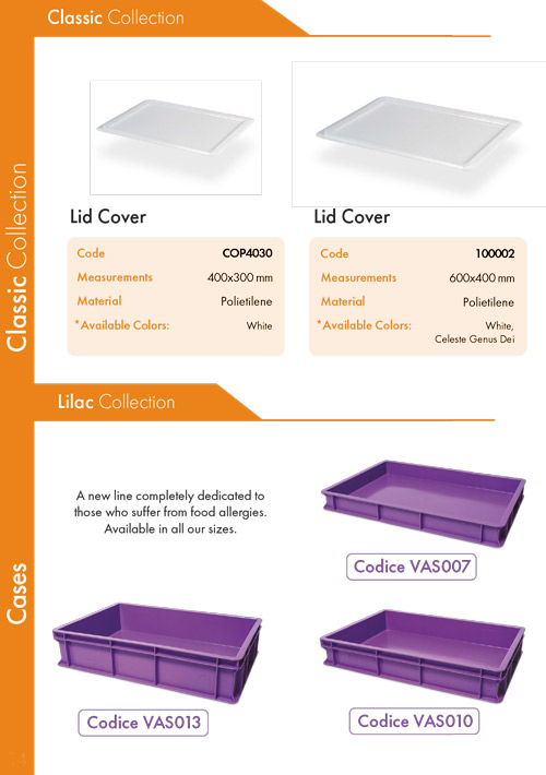 Lids & Lilac Collection Dough Cases
